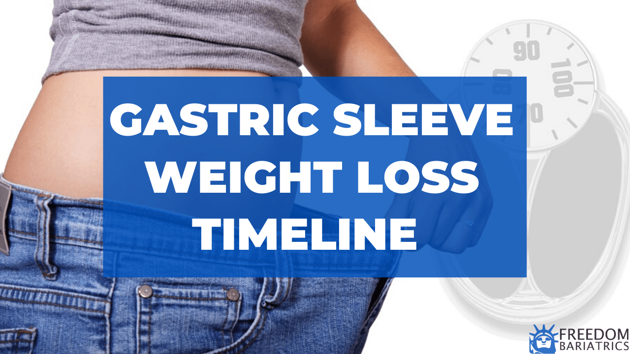 Gastric Sleeve Weight Loss Timeline - Freedom Bariatrics in Mexico